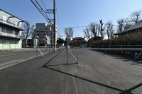都市計画道路3・4・17清瀬市下清戸4丁目2021年2月 - ひのきよ