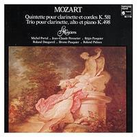 モーツァルトの「クラリネット五重奏曲」 - 天浪堂日乗