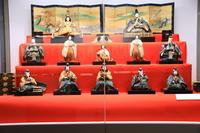 江戸時代のひな人形と日本人形 - お散歩写真     O-edo line