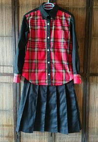 作っておいた シャツ&スカート - 刺繍や縫い物 生け花と庭仕事