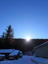 陽の当たる家案内状 - f's note ak