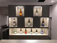 第5回旅館甲子園グランプリ・楊貴館日本酒バーディスプレイ収納棚 - アトリエMアーキテクツの建築日記