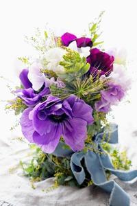 貴婦人のコンポジションスペシャル - お花に囲まれて