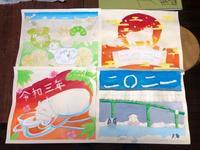 稲沢教室、児童コース、土曜日、カレンダーがもうすぐ完成します。 - 大﨑造形絵画教室のブログ