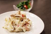 舞茸ポテトサラダ - おいしい便り