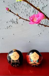 桃の花と雛人形 - La Pousse(ラプス) フローラルのときどき