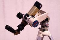 片持ちフォーク式経緯台(ポルタ+GP)で太陽を撮影する - 亜熱帯天文台ブログ