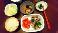 本日の夕飯 - 香港と黒猫とイズタマアル2