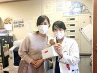 T先生よりお土産をいただきました♡ - 長崎大学病院 医療教育開発センター  医師育成キャリア支援室