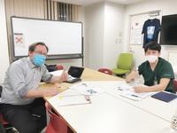 英会話の様子♪ - 長崎大学病院 医療教育開発センター  医師育成キャリア支援室