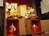 松の湯のひな飾り2021:松の湯交流館(黒石市) - 津軽ジェンヌのcafe日記