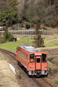 木次線再開確認列車 - かにさんの横歩き散歩日記