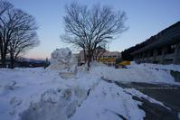 野沢温泉村役場・公民館前は開通しました^^ - 野沢温泉とその周辺いろいろ2