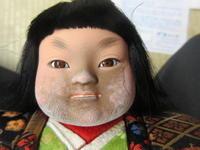 【大将人形お顔のカビカビ落としと塗直し】 - 人形修理職人ネットワーク福田匠庵 匠の工房便り