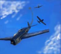 血戦のフィリピン③零戦 vs F6F - 回れプロペラ!  Rotate Propeller!