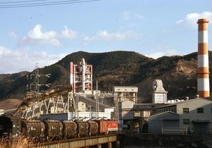 土讃線 大阪セメント須崎工場専用線 - 南風・しまんと・剣山 ちょこっと・・・