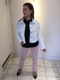 白のデニムジャケット - ★ Eau Claire ★ Dolce Vita ★