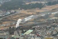 日光の煙- 東武鬼怒川線・2021年冬 - - ねこの撮った汽車