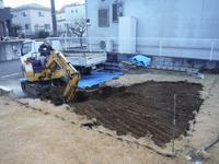 駐車場を広げたい~掘削、残土搬出。 - 市原市リフォーム店の社長日記・・・日日是好日
