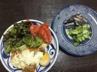 チキン南蛮  コノシロの酢じめ - ギャラリーとーちきの夢布布日記