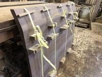セミダブルベッドの組み立て - 手作り家具工房の記録