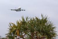 7年前ボーイング747-400機を撮る - 京都ときどき沖縄ところにより気まぐれ