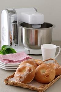 Boschコンパクトキッチンマシンで「明太子とクリームチーズのビアリー」 - Takacoco Kitchen