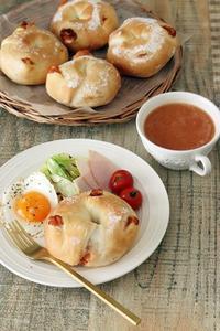 コラカフェスープの素で朝ごはん - Takacoco Kitchen