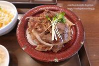 近江牛皿膳&琵琶湖畔の菜の花畑 - おばちゃんとこのフーフー(夫婦)ごはん