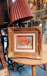 小さな板絵 - CELESTE アクセサリーと古道具