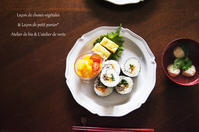 韓国風海苔巻き。 - *Romantic caramel-香草菓子や粉と卵とおうちおやつ*