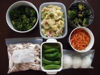 週末の常備菜づくり(210307) - ふたりで暮らす
