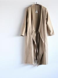 R&D.M.Co-KERSEY TIE ROBE - 『Bumpkins putting on airs』