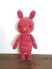 ピンクの編みぐるみの完成 - mattarieの種。