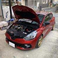 ルーテシア4 RS アーシング施工 - 「ワッキーの自動車実験教室」 ワッキー@日記でごじゃる