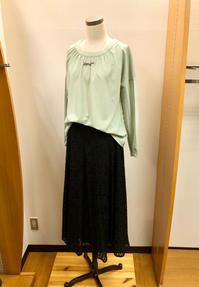 歩くたびに風になびく、華やぎ総レーススカート Style⭐︎ - Bashamichi's Blog