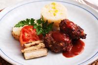 オーブンで焼き上げる「ハンバーグ」 - 登志子のキッチン