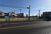 都市計画道路3・3・8東村山市久米川町5丁目付近2021年2月 - ひのきよ