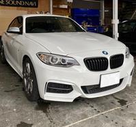 【F22】BMWスピーカー交換 - 静岡県静岡市カーオーディオ専門店のブログ