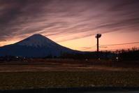 令和3年3月の富士(2)御殿場日暮れ時の富士 - 富士への散歩道 ~撮影記~