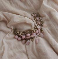 ピンクオパールとクンツァイトの5連ブレスレット - 吉屋 Photo Blog