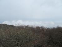 御在所岳山頂の雲 - 日々の風景