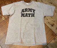 3月13日(土)入荷!80s〜MADE IN U.S.A The Cotton Exchange 染み込みプリントU.S ARMY MATH Tシャツ ! - ショウザンビル mecca BLOG!!