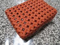 石畳編みのふた付き箱・小サイズ、できあがりました - あれこれ手仕事日記 new!