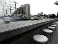 新港1突と2突の間のフェリシモビル建設中 - 神戸トピックス