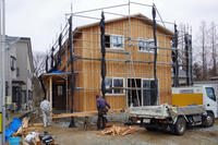 高崎の家(五城目町)進捗状況 - 今井ヒロカズ設計事務所/ LLC北風と太陽舎