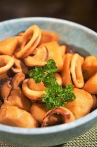 ■和のおかず【里芋・烏賊・椎茸のコックリ煮レシピ】堪らない美味しさです♪ - 「料理と趣味の部屋」
