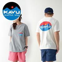 KAVU [カブー] Surf Logo Tee [19820423] サーフロゴTシャツ・ポケットTシャツ・MEN'S [2021SS] - refalt blog