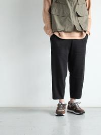 CaleCotton Rib Easy Pants - 『Bumpkins putting on airs』