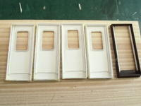 16番紙製スハ43 2輌目 その11 紙製Hゴム仕様客扉製作 - 新湘南電鐵 横濱工廠3